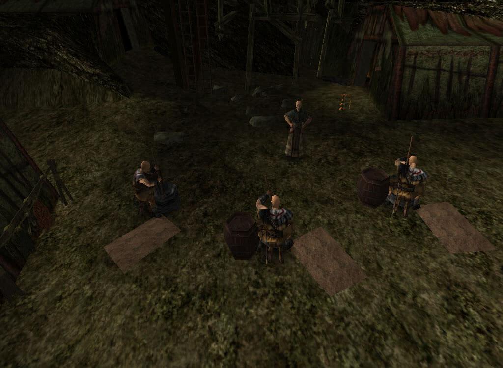 Изготовление болотника – игра Готика 1