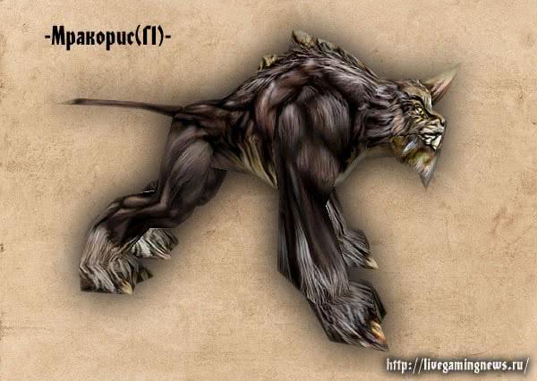 Готика 1 Мракорис – вид справа, монстры игры Готика