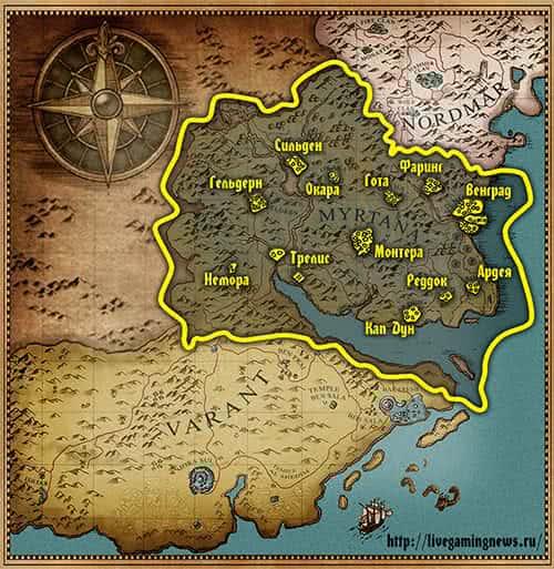 Королевство Миртана – Полное прохождение Готики 3