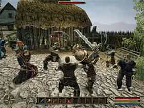 Сражение с орками в Ардее