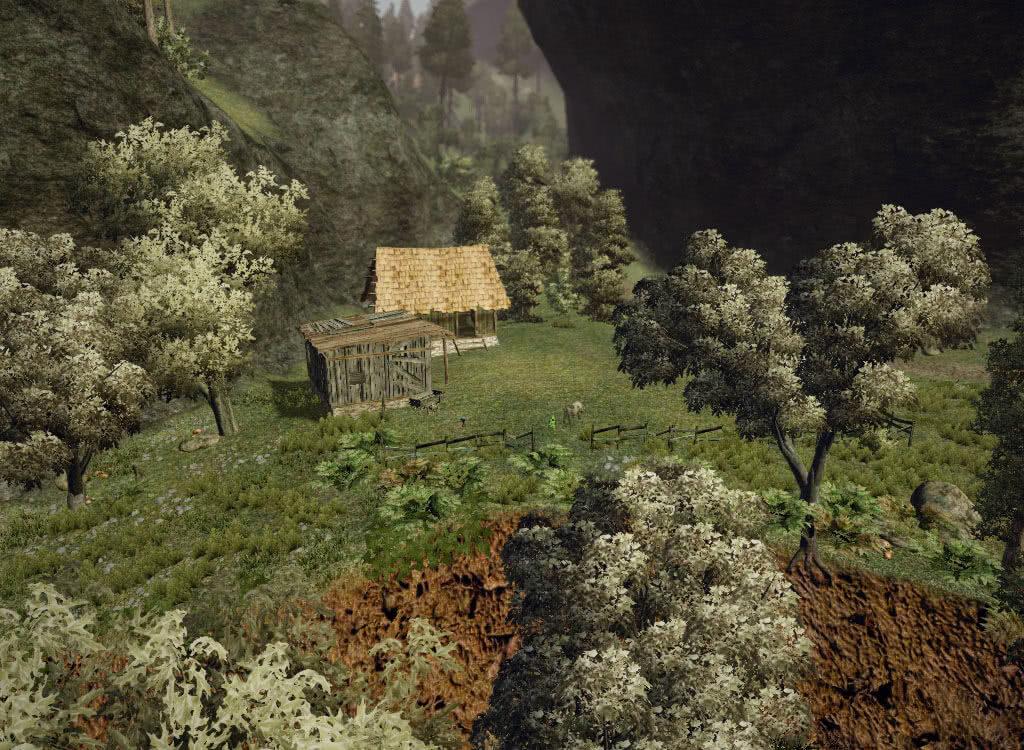 Ферма в ущелье - игра Готика 3