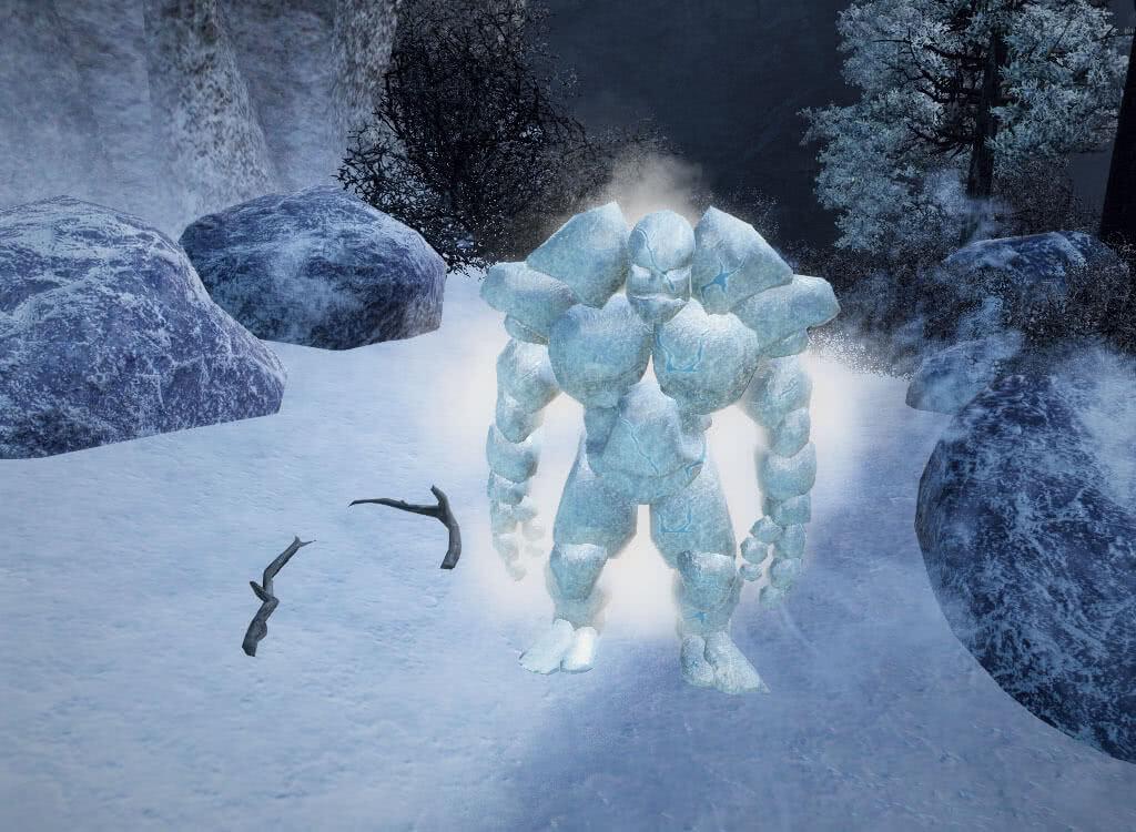 Ледяной голем - игра Готика 3