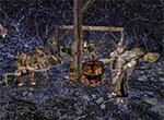Шаман орков у котла - игра Готика 3