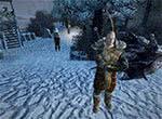 Житель Нордмара с тарелкой - игра Готика 3