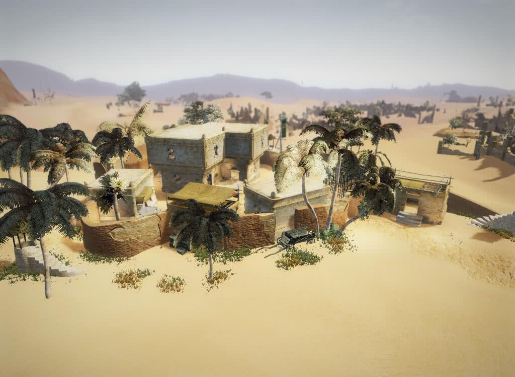 Городок в пальмах - игра Готика 3