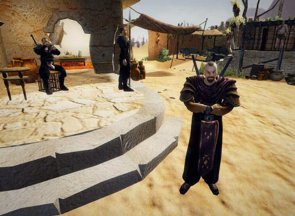 Злой ассасин - игра Готика 3