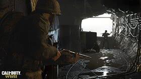 Call of Duty: WWII к фашисту со спины
