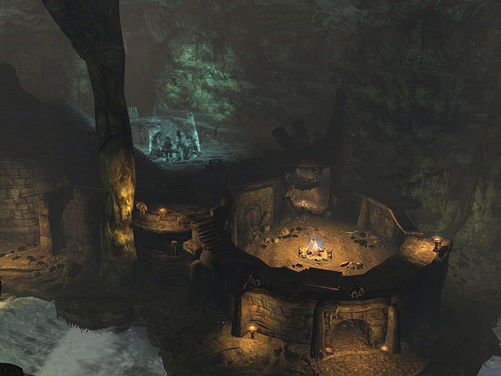 Внутренний зал Убежища Старейшин