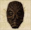 Деревянная драконья маска