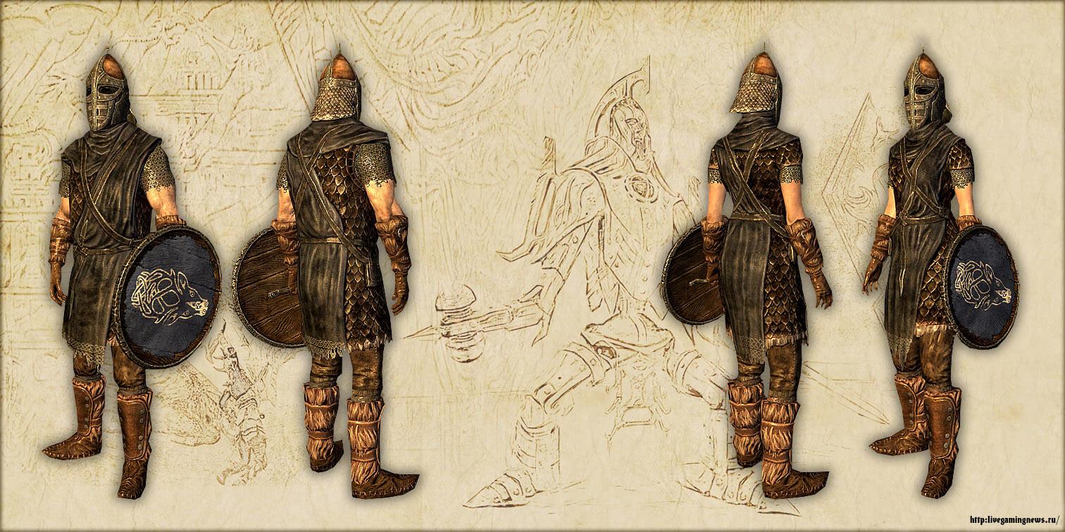 Скайрим – Доспехи стражи Фолкрита