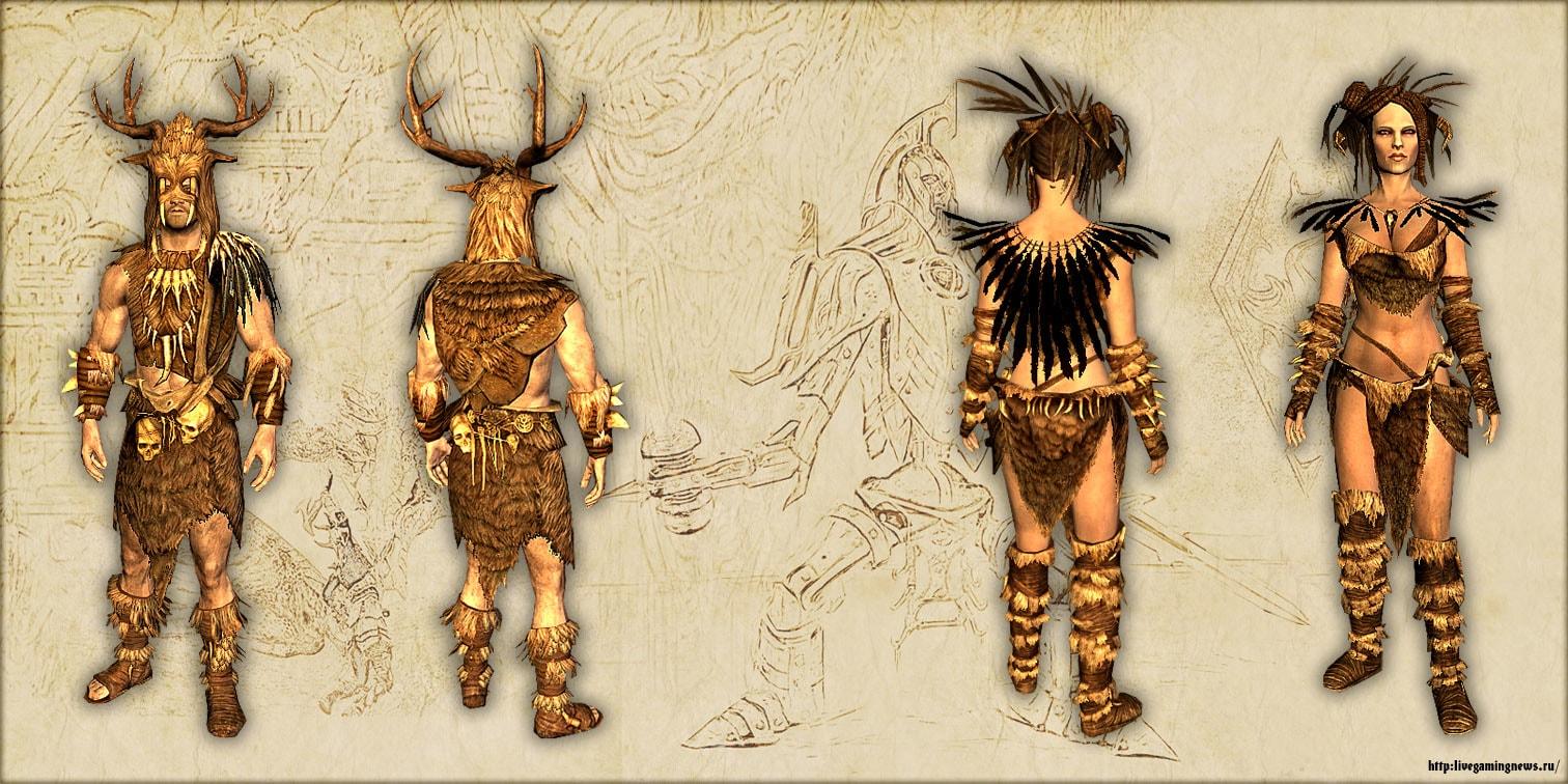 Скайрим – Доспехи старых богов