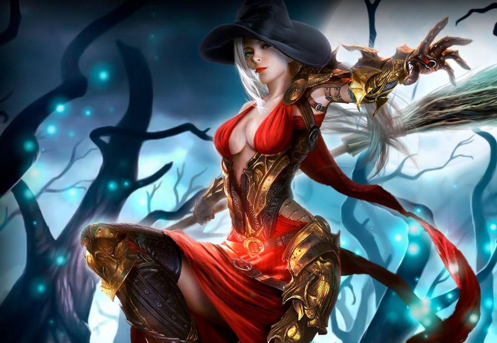 Девушка из игры Драгон Лорд
