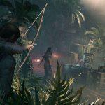 Shadow of the Tomb Raider - Лара Крофт целится с лука