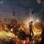 Shadow of the Tomb Raider - Лара Крофт идет с сумкой