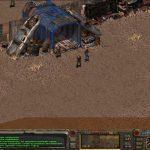Fallout 1 скриншоты Джанктауна - вход в город