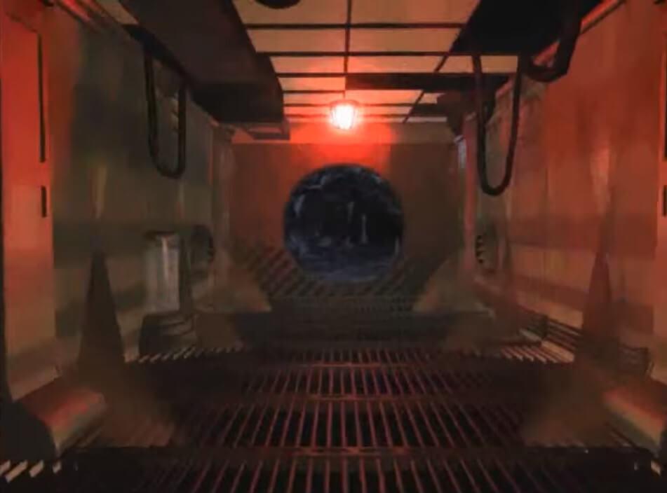 Fallout 1 скриншоты внешней двери Убежища-13