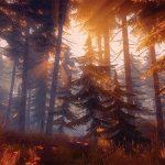 Лес в игре Lake Ridden