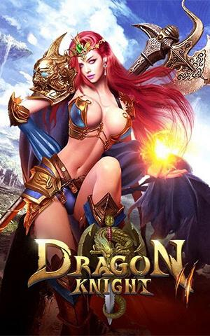Девушка из Dragon Knight 2
