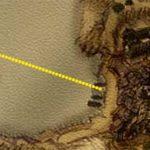 Карта местоположения острова с сокровищами Гильдии воров Хориниса