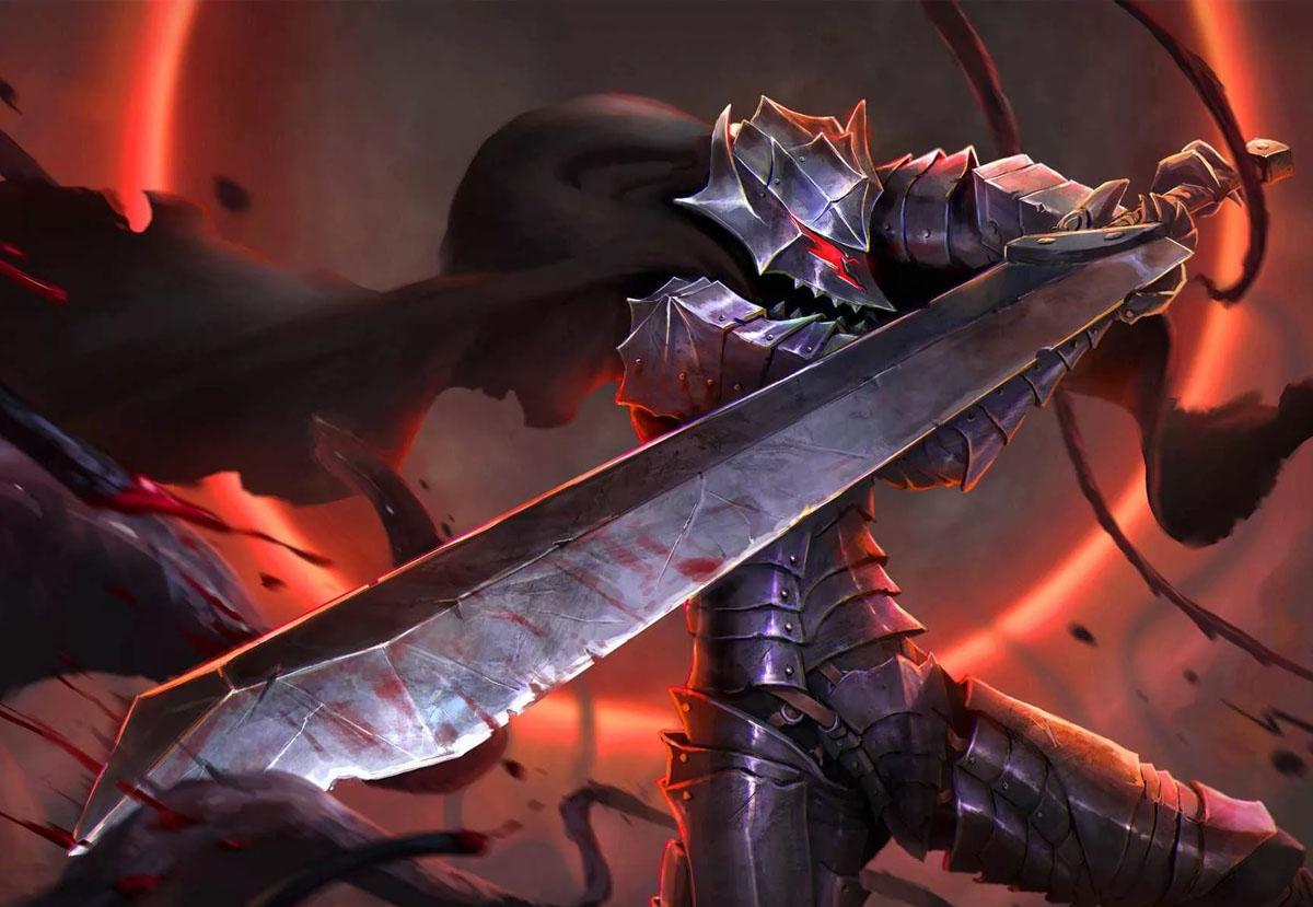 Воин с двуручным мечом