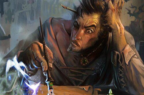 Алхимик из игры Морровинд