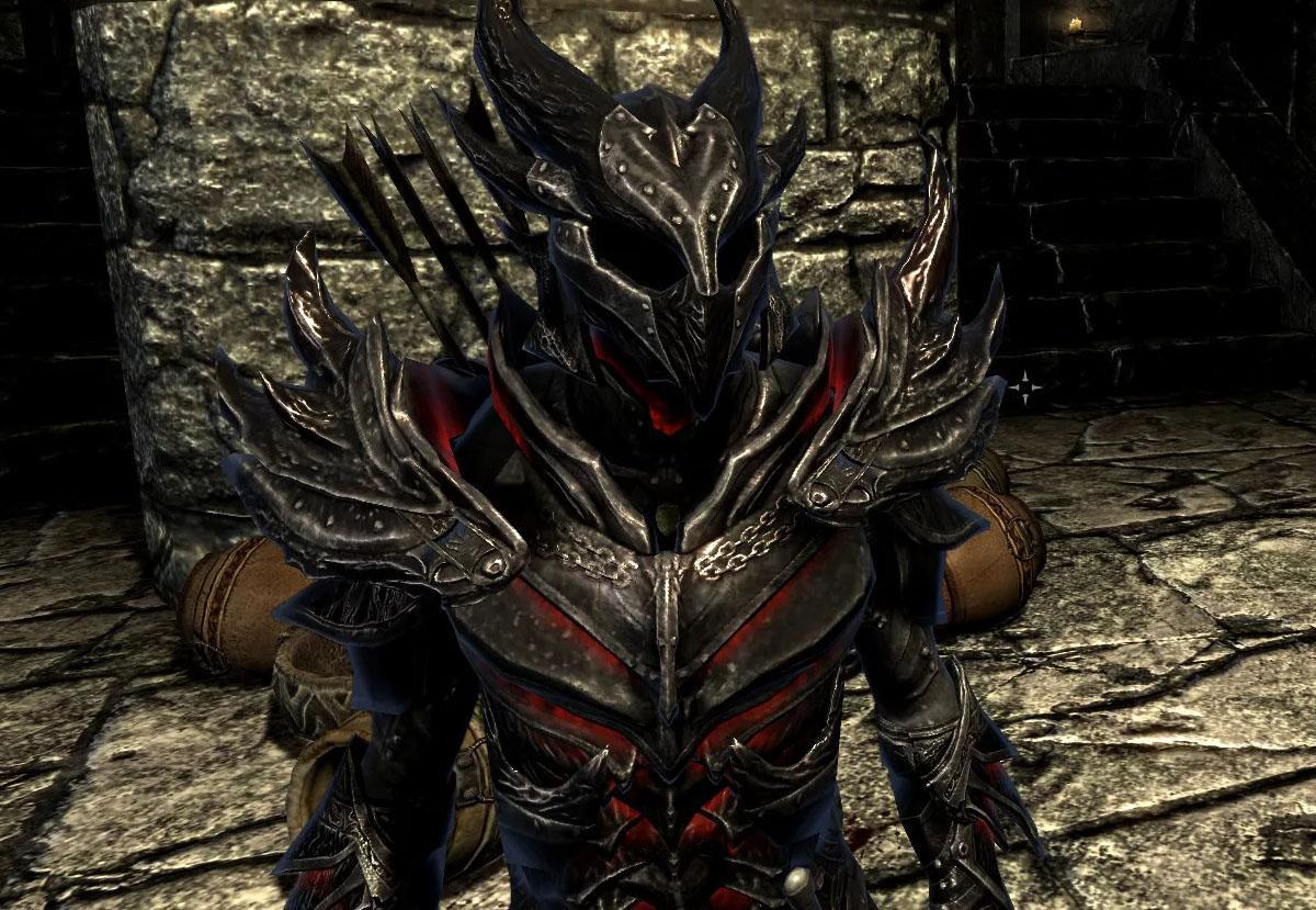 Даэдрическая броня (полный сет) — The Elder Scrolls V: Skyrim