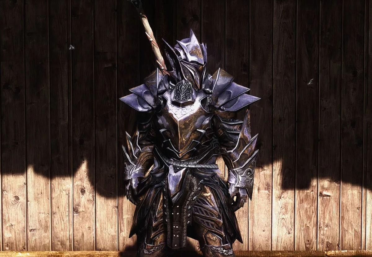 Эбонитовая броня (полный сет) — The Elder Scrolls V: Skyrim