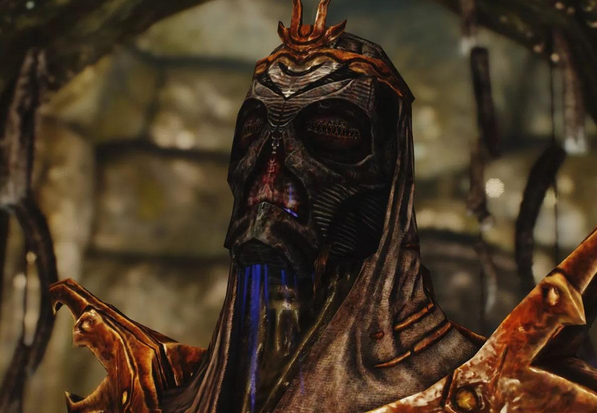 Хевнорак — маска драконьего жреца из The Elder Scrolls V: Skyrim