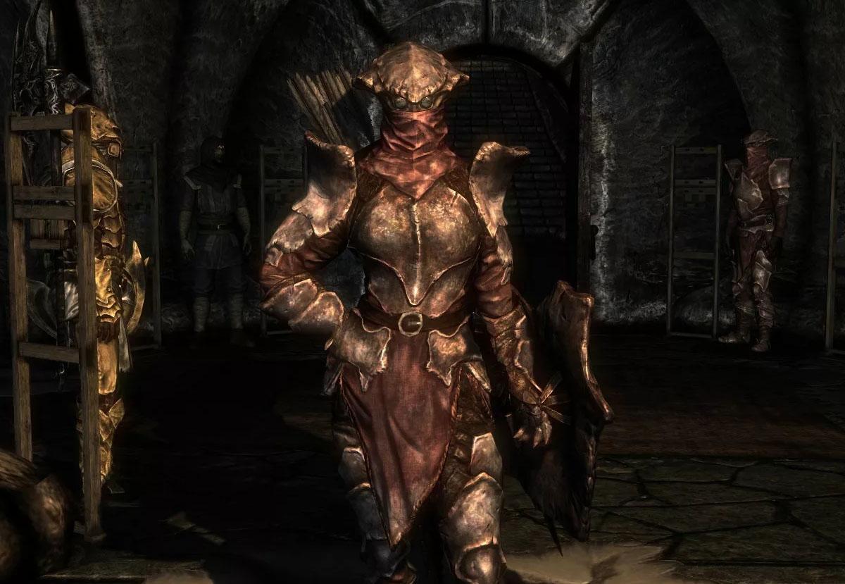 Тяжелая хитиновая броня (полный сет) — The Elder Scrolls V: Skyrim