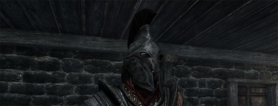 Имперский закрытый шлем