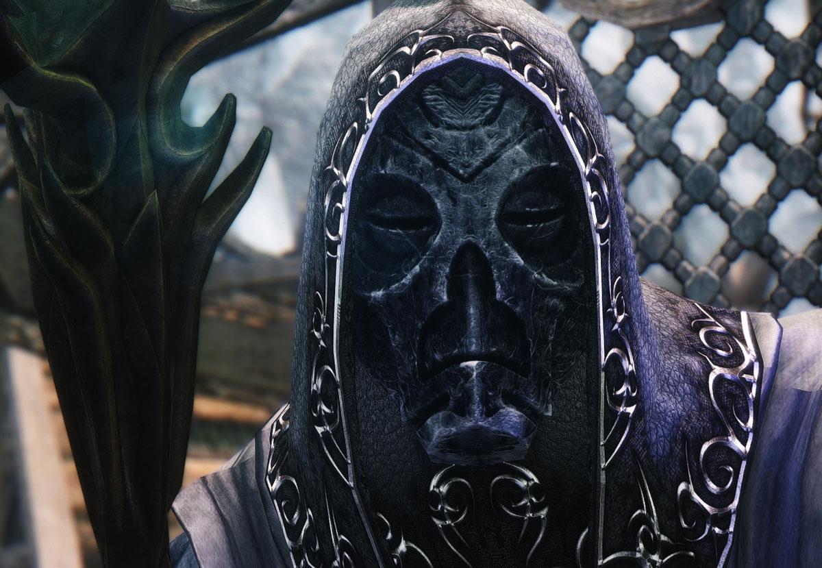 Рагот — маска драконьего жреца из The Elder Scrolls V: Skyrim