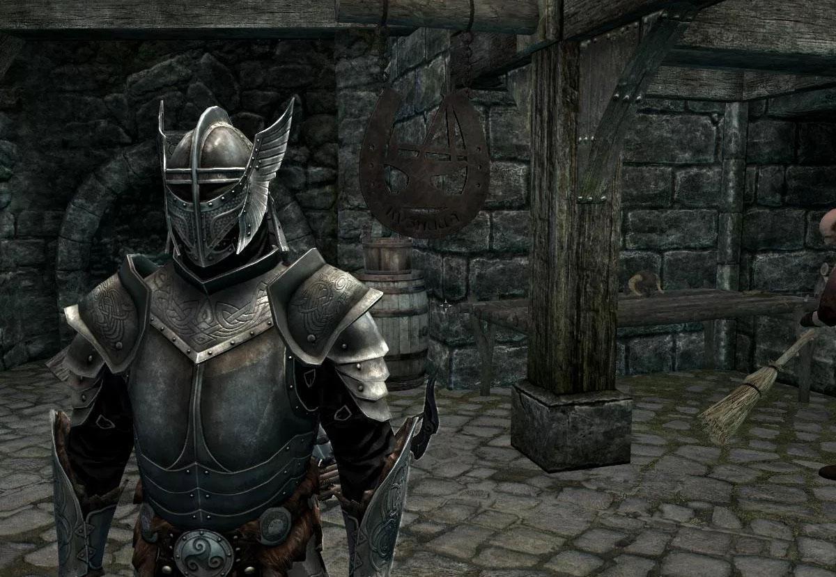 Стальная броня (полный сет) — The Elder Scrolls V: Skyrim