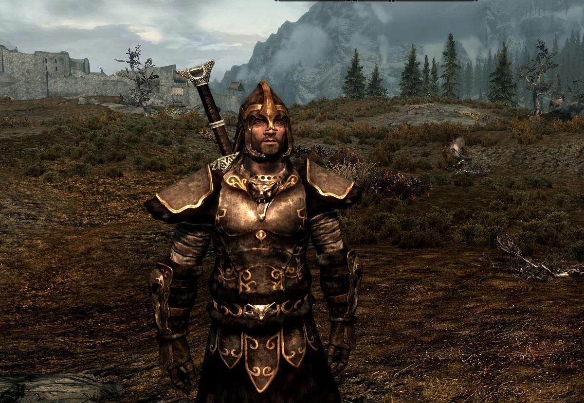 Волчья броня (полный комплект) — The Elder Scrolls V: Skyrim