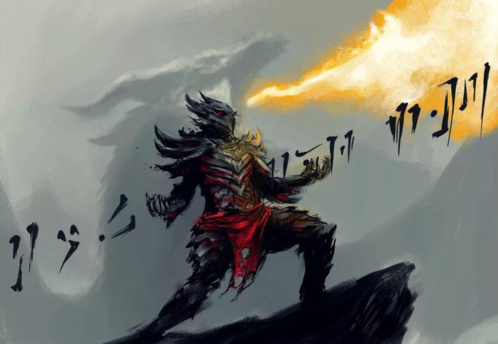 Драконий крик из Скайрима