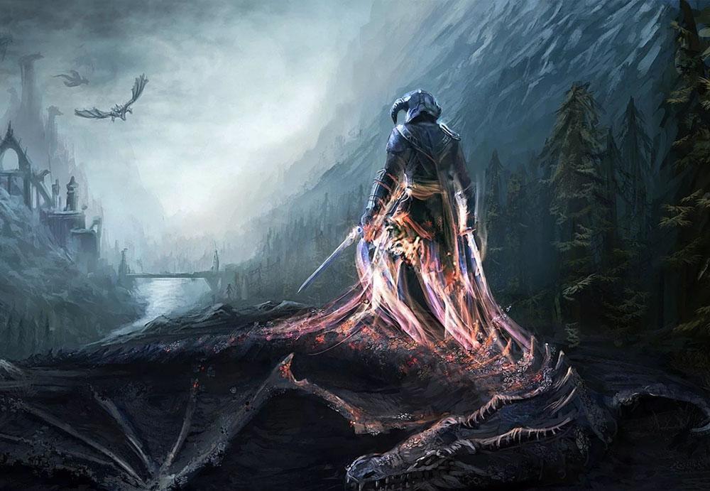 Душа дракона переходит к Довакину