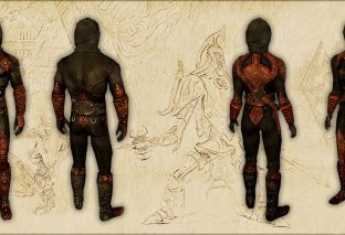 Поношенная броня теней (Скайрим)