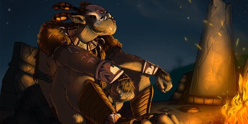 Орк шаман из игры Готика 1