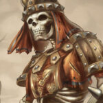 Скелет воин из игры Готика 1