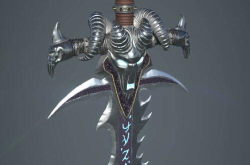Оружие Готики 2 - меч Белиара