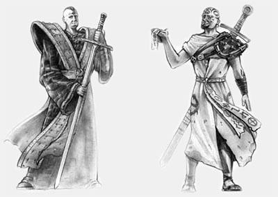 Маг и послушник с мечем – Готика 1 коды